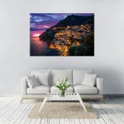 Adrian Red, Limited Edition Fine Art Print. Amalfi Coast, Positano, Italy