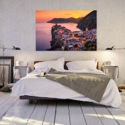 Adrian Red, Limited Edition Fine Art Print. Vernazza, Cinque Terre, Italy